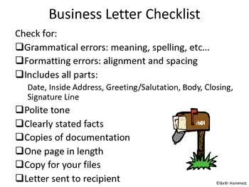 How to Write An Award Winning Business Letter
