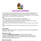 How to Write a Bibliography (MLA)