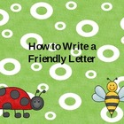 How to Write a Friendly Letter Power Point_Spring
