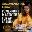 How to Write a Persuasive Essay for AP Spanish PowerPoint
