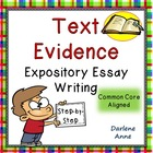 How to Write an Essay Requiring Text Based Details {Common