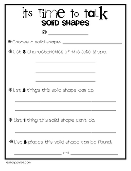 How to be a Solid Shape