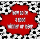 How to be a good winner or loser charts