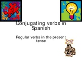 How to conjugate regular verbs in Spanish