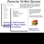 Huckleberry Finn Mini Character ID Quiz