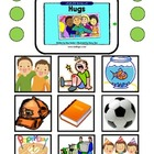 """Hugs"" Comprehension Questions & Token Test for Autism"