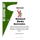 Human Body Systems Crossword
