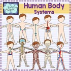 Human Body systems clipart