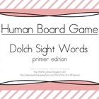Human Game Board - Dolch Sight Words - Primer