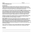 Human Respiration Systems Homeostasis Laboratory Lesson Plan