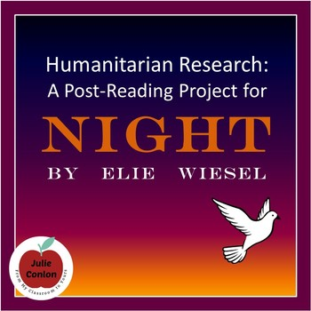 Humanitarian Research (a post-reading assignment for Night