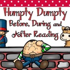Humpty Dumpty Before, During, After Reading Activities