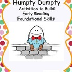 Humpty Dumpty Kit- Activities to Build Early Reading Found