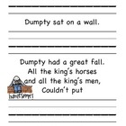 Humpty Dumpty Name Practice