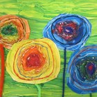 Hundertwasser&#039;s Flowers
