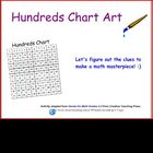 Hundreds Chart Art 