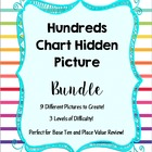 Hundreds Chart Hidden Picture 3 Set Bundle