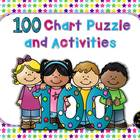 Hundreds Chart Puzzle and Activity