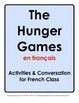 Hunger Games Activities in French Class