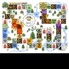 &quot;Hunger Games&quot; Arena Map Board Game Review Activity Project