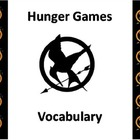 Hunger Games Book Vocabulary Powerpoint