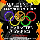 Hunger Games & Catching Fire Character Olympics Lesson Activity