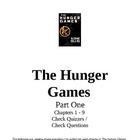 Hunger Games Chapters 1-27 Q &amp; A, Arena Activity, Chap. Su