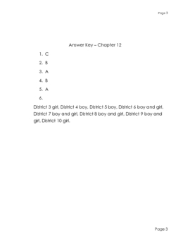 Hunger Games - Check Questions-Chapter 12
