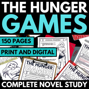 Hunger Games - Complete Novel Study with Questions and Activities