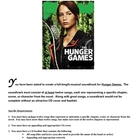 Hunger Games Project (soundtrack)