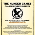 Hunger Games Q &amp; A Chap. 1-27 + Arena Activity, Chap. Summaries