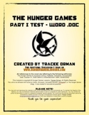 Hunger Games Test Novel Part One Test with Key .doc