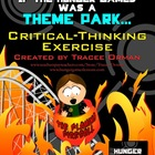 Hunger Games Theme Park Creative Common Core Activity