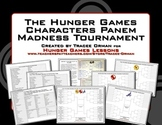 Hunger Games Trilogy Tournament Madness Creative Activity