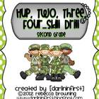 Hup, Two, Three, Four...Skill Drill!! {Second Grade}