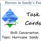 Hurricane Sandy Discussion Cards