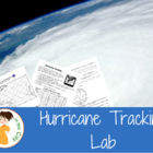 Hurricane Tracking Latitude Longitude Activity