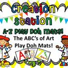 I Can Be An Artist~ABC Play Doh Mats!