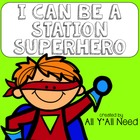 I Can Be a Station Superhero Chart