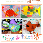 I Can Draw & Paint! Art Lessons