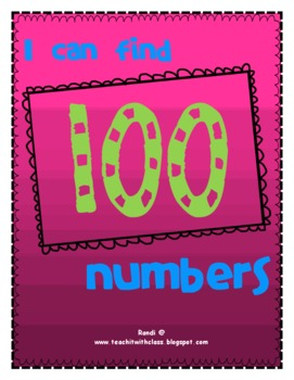 I Can Find 100 Numbers