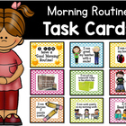 """I Can Have a Good Morning"" Routine Task Cards"