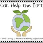 I Can Help the Earth – An Emergent Reader