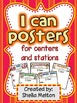 I Can Lists for Centers ~ Includes Lists for 16 Centers!!