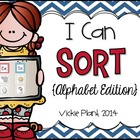 I Can Sort From A-Z {Alphabet Sorting Activities}