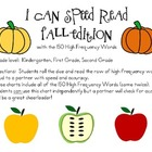 I Can Speed Read {Fall Edition}