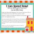 I Can Speed Read {Fry's 600 Instant Phrases} for Fluency