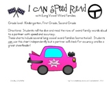 I Can Speed Read {Long Vowel Word Families}