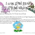 I Can Speed Read {Spring Edition}
