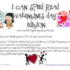 I Can Speed Read {Valentine&#039;s Day}